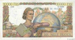 10000 Francs GÉNIE FRANÇAIS FRANCE  1956 F.50.78 TTB