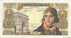 10000 Francs BONAPARTE FRANCE  1956 F.51.03 TB