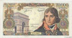 10000 Francs BONAPARTE FRANCE  1956 F.51.03