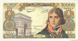 10000 Francs BONAPARTE FRANCE  1957 F.51.07 SUP
