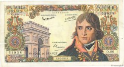 10000 Francs BONAPARTE FRANCE  1957 F.51.09 TB+