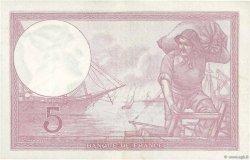 5 Francs VIOLET modifié FRANCE  1939 F.04.11 pr.SUP