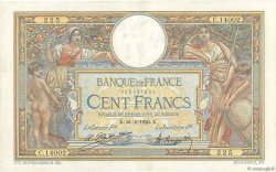 100 Francs LUC OLIVIER MERSON grands cartouches FRANCE  1926 F.24.04 TTB+