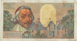 1000 Francs RICHELIEU FRANCE  1955 F.42.11 TB