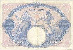 50 Francs BLEU ET ROSE FRANCE  1924 F.14.37 TTB+