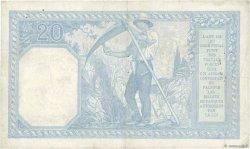 20 Francs BAYARD FRANCE  1917 F.11.02 pr.TTB