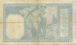 20 Francs BAYARD FRANCE  1917 F.11.02