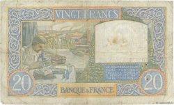 20 Francs SCIENCE ET TRAVAIL FRANCE  1941 F.12.20 TB