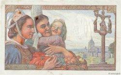 20 Francs PÊCHEUR FRANCE  1942 F.13.03 TTB