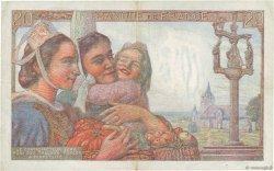 20 Francs PÊCHEUR FRANCE  1942 F.13.04 pr.SUP