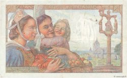 20 Francs PÊCHEUR FRANCE  1942 F.13.04 TTB+