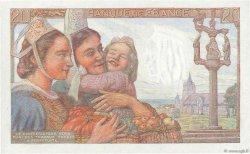 20 Francs PÊCHEUR FRANCE  1943 F.13.05 SPL+