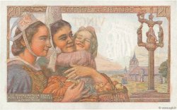 20 Francs PÊCHEUR FRANCE  1943 F.13.06 NEUF