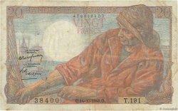 20 Francs PÊCHEUR FRANCE  1948 F.13.13 TB+