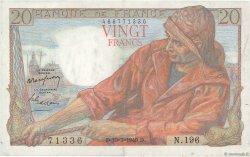 20 Francs PÊCHEUR FRANCE  1949 F.13.14 SUP