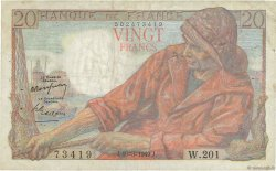 20 Francs PÊCHEUR FRANCE  1949 F.13.14 TB+