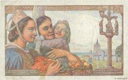 20 Francs PÊCHEUR FRANCE  1949 F.13.15 TTB+