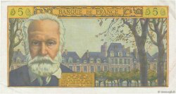 5 Nouveaux Francs VICTOR HUGO FRANCE  1960 F.56.05 TTB+