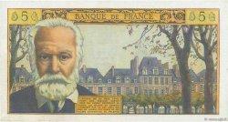5 Nouveaux Francs VICTOR HUGO FRANCE  1965 F.56.17 SUP