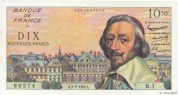 10 Nouveaux Francs RICHELIEU FRANCE  1959 F.57.01 SUP+