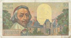 10 Nouveaux Francs RICHELIEU FRANCE  1959 F.57.01 B+