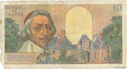 10 Nouveaux Francs RICHELIEU FRANCE  1959 F.57.03 AB