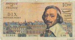 10 Nouveaux Francs RICHELIEU FRANCE  1960 F.57.06 B