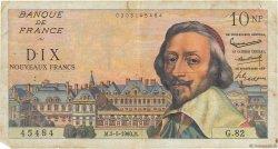 10 Nouveaux Francs RICHELIEU FRANCE  1960 F.57.07 B+