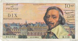 10 Nouveaux Francs RICHELIEU FRANCE  1960 F.57.10 TTB