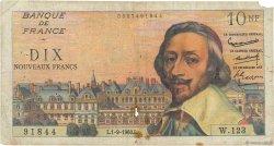10 Nouveaux Francs RICHELIEU FRANCE  1960 F.57.10 B