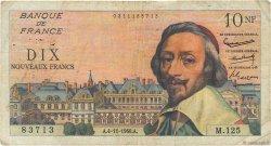 10 Nouveaux Francs RICHELIEU FRANCE  1960 F.57.11 B+