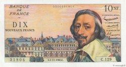 10 Nouveaux Francs RICHELIEU FRANCE  1960 F.57.11 pr.NEUF