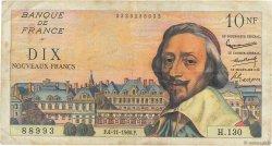 10 Nouveaux Francs RICHELIEU FRANCE  1960 F.57.11 TB