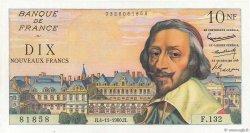 10 Nouveaux Francs RICHELIEU FRANCE  1960 F.57.11 SUP
