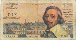10 Nouveaux Francs RICHELIEU FRANCE  1960 F.57.11 B