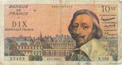 10 Nouveaux Francs RICHELIEU FRANCE  1961 F.57.13 B
