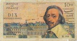 10 Nouveaux Francs RICHELIEU FRANCE  1961 F.57.14 B
