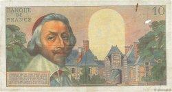 10 Nouveaux Francs RICHELIEU FRANCE  1961 F.57.14 TB+