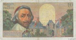 10 Nouveaux Francs RICHELIEU FRANCE  1961 F.57.15 TB+