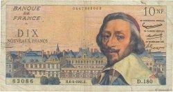 10 Nouveaux Francs RICHELIEU FRANCE  1961 F.57.15 B