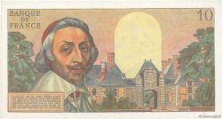 10 Nouveaux Francs RICHELIEU FRANCE  1962 F.57.17 TTB+