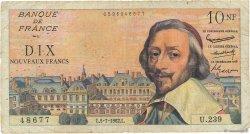 10 Nouveaux Francs RICHELIEU FRANCE  1962 F.57.20 B