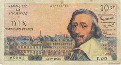 10 Nouveaux Francs RICHELIEU FRANCE  1962 F.57.21 B