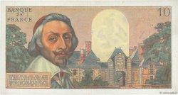 10 Nouveaux Francs RICHELIEU FRANCE  1962 F.57.21 TTB