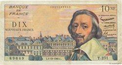 10 Nouveaux Francs RICHELIEU FRANCE  1962 F.57.21 TB