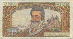 50 Nouveaux Francs HENRI IV FRANCE  1959 F.58.02 TB