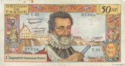 50 Nouveaux Francs HENRI IV FRANCE  1960 F.58.05 TB