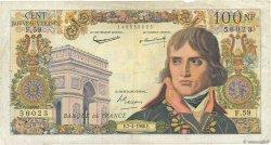 100 Nouveaux Francs BONAPARTE FRANCE  1960 F.59.06 TB