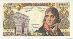 100 Nouveaux Francs BONAPARTE FRANCE  1960 F.59.06 TTB