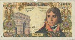 100 Nouveaux Francs BONAPARTE FRANCE  1961 F.59.10 B+